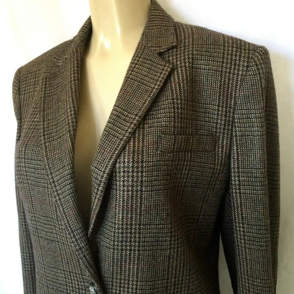 Size 12 Coats, Jackets & Vests Women's Clothing Brown Riding Blazer