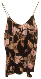 Tucker Top black with flowers