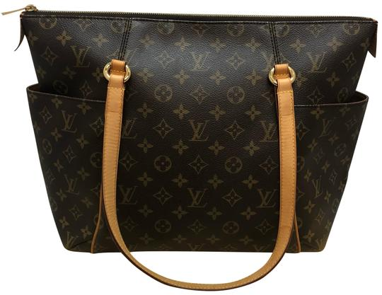 80cd3160a82a Louis Vuitton Totally Mm with Dustbag Brown Monogram Canvas Tote ...