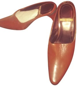 Me Too Cognac- Burnt Orange Mules