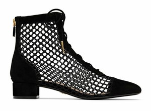 Dior Pigalle Follies Stiletto Glitter Classic Black Boots