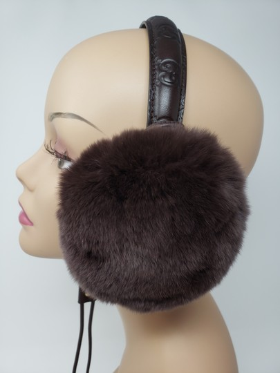 64be31d38 Gucci Brown Guccissima leather Gucci earmuffs Image 10