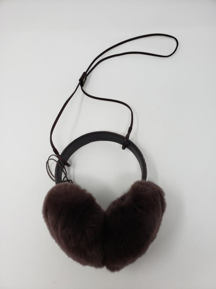 0dba84dea Gucci Brown Guccissima leather Gucci earmuffs Image 11. 123456789101112