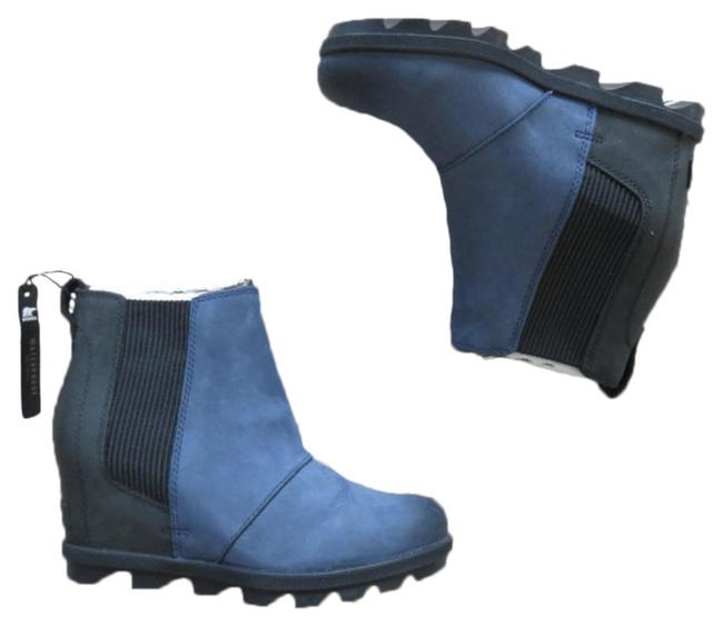 Item - Navy Blue New Joan Of Arctic Chelsea 38 Boots/Booties Size US 7 Regular (M, B)
