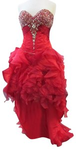 Panoply Prom Pageant Homecoming Hi Lo Dress