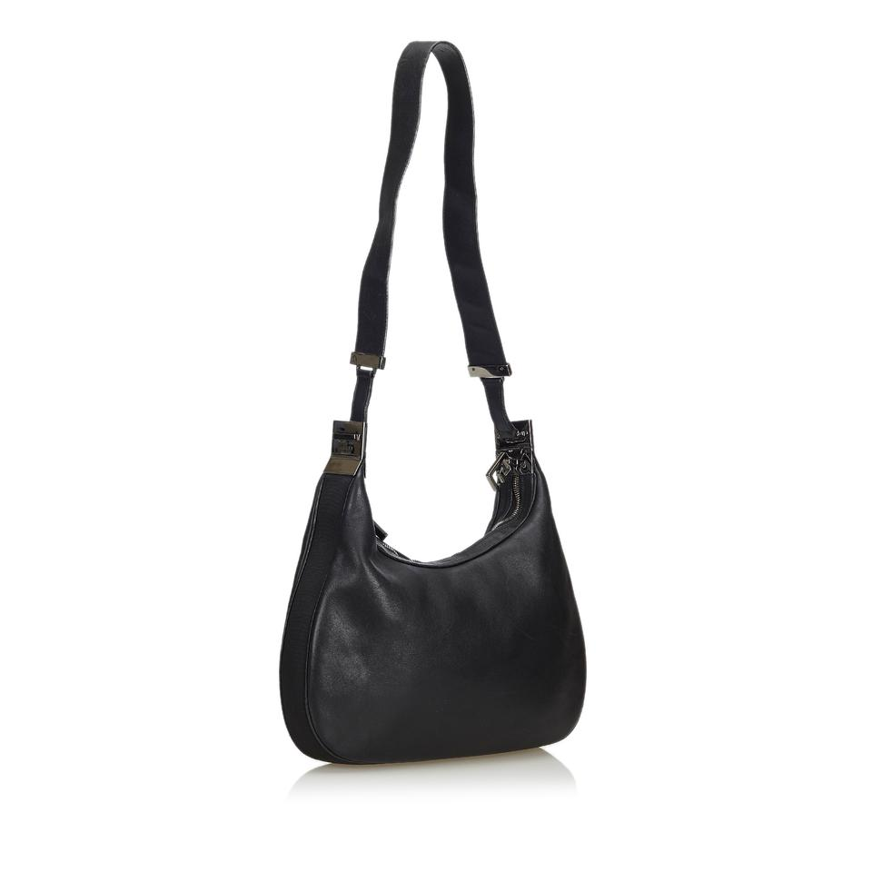 ee84aafe Gucci Others Italy W Dust Black Leather Hobo Bag 64% off retail
