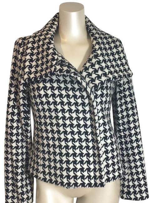 Talbots Black and White Fit Jacket Size 2 (XS) Talbots Black and White Fit Jacket Size 2 (XS) Image 1