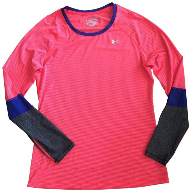 Item - Multicolor Fitted Heat Gear Activewear Top Size 8 (M)