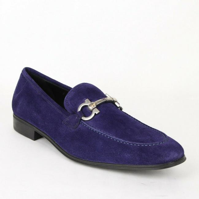Item - Indigo Men's Flori Suede Horsebit Loafer 670035 9.5 Ee Shoes