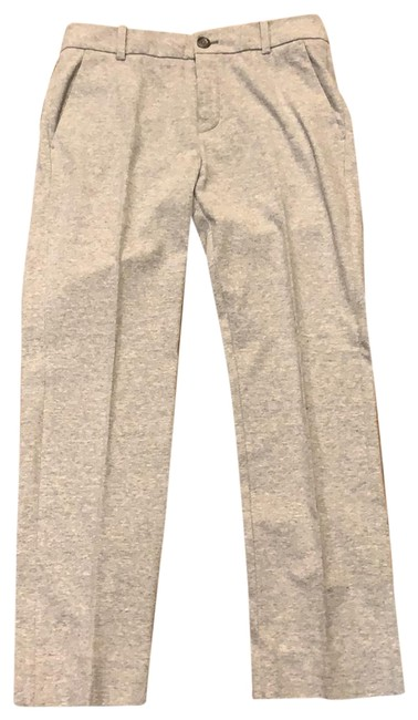 Item - Grey Tapered Cotton Pants Size 6 (S, 28)