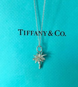 ce2e29a35 Tiffany & Co. Silver Palm Tree Necklace Pendant Charm Necklace