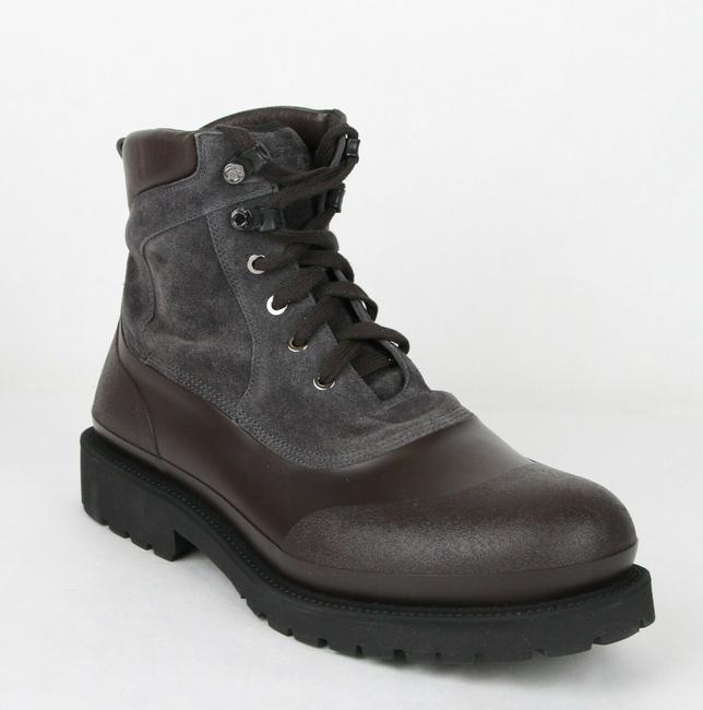Item - Dark Silver Men's Forest Rubber Suede Ankle Boots 656783 11 M Shoes