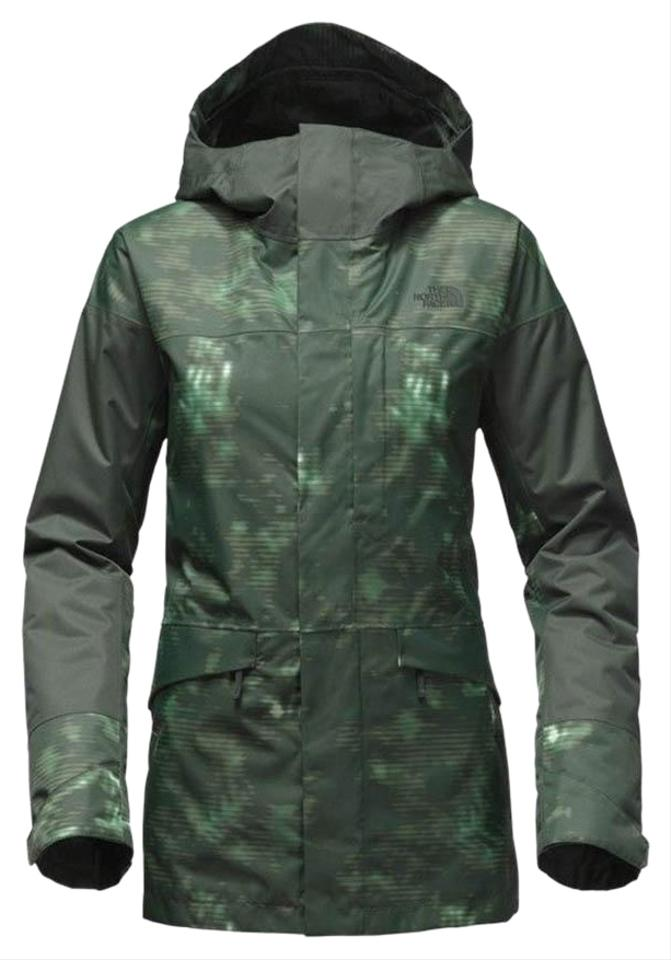 fcc6fe4a7 The North Face Green Cross Town Hooded Outdoor Snowboard Jacket M Coat Size  8 (M) 24% off retail
