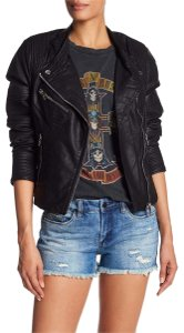 BlankNYC Faux Leather Biker Motorcycle Jacket