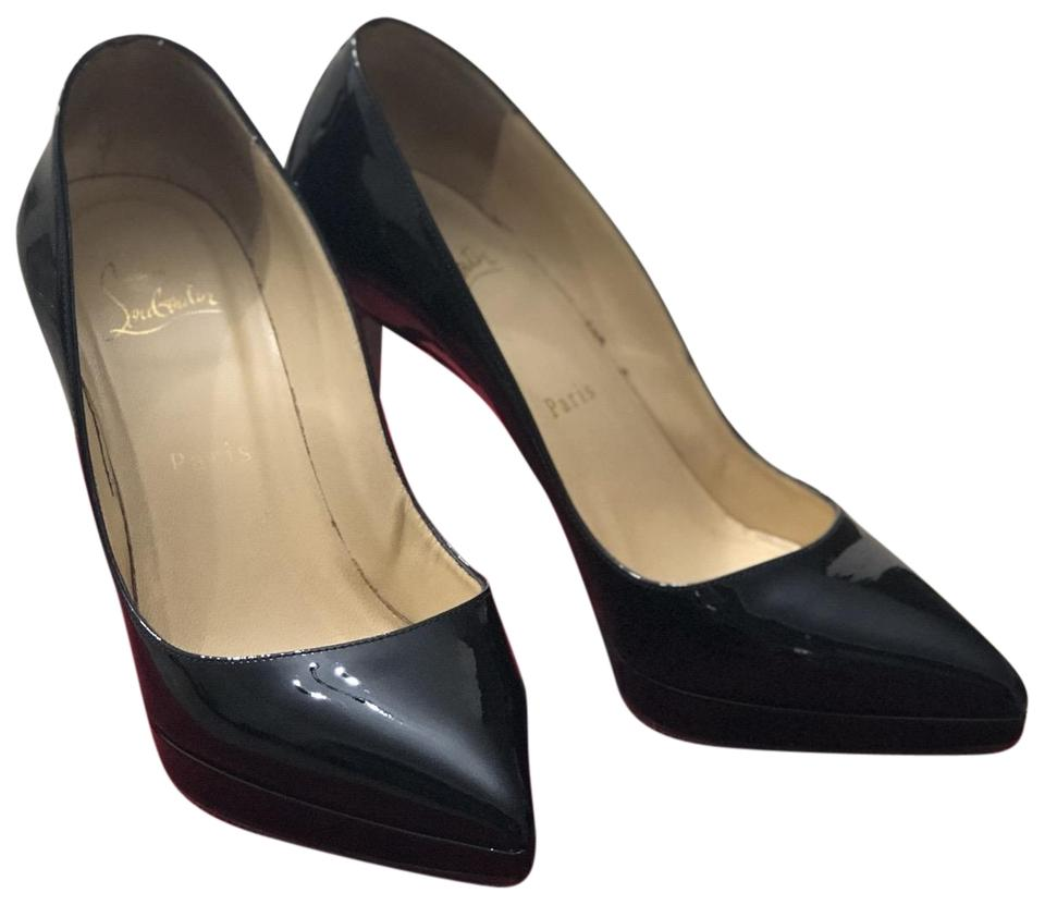 online store 19587 f2ac0 Christian Louboutin Black Pigalle Plato 100mm Pumps Size EU 37 (Approx. US  7) Regular (M, B) 15% off retail