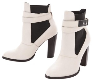 Elizabeth and James off white and black Boots