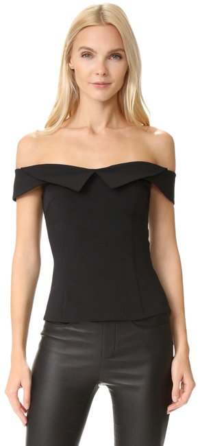 Item - William Shoulder Black Top