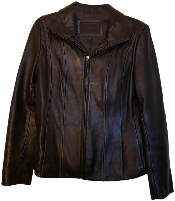 Item - Black Women's Fitted Jacket Size 10 (M)