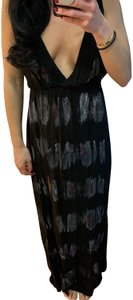 black/purple/greys Maxi Dress by Blue Life