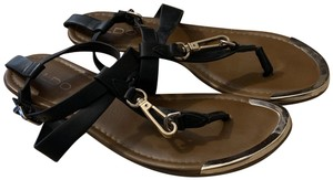 ALDO Brown and Black Sandals