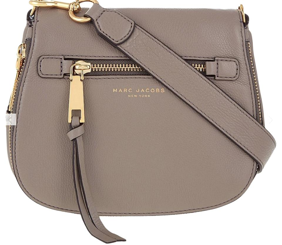 select for newest extremely unique buy Marc Jacobs Recruit Nomad Large Mink Leather Cross Body Bag 36% off retail