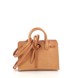 Mansur Gavriel Leather Tote in brown
