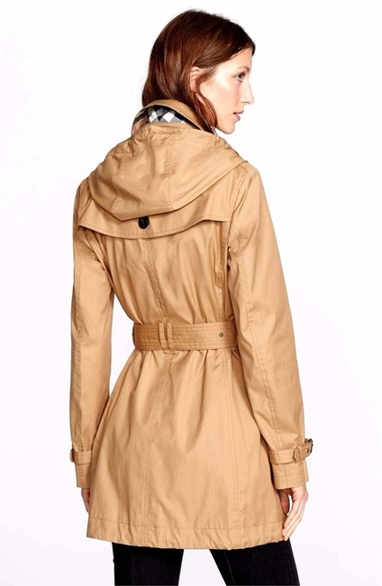 Burberry Brit Trench Coat Image 1