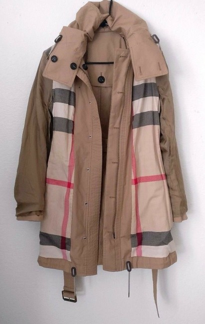 Burberry Brit Trench Coat Image 5