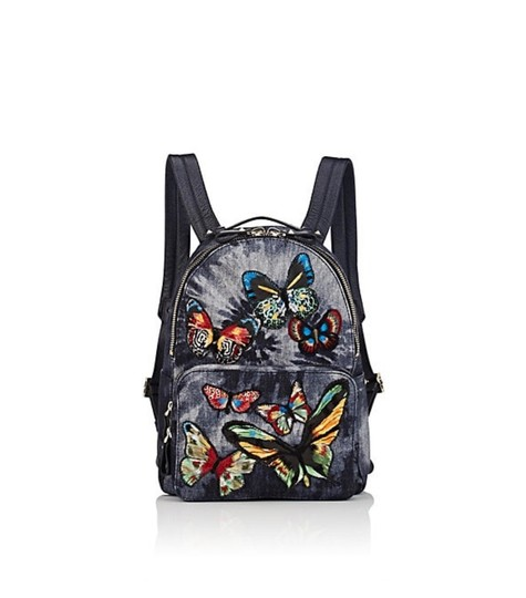 Preload https://img-static.tradesy.com/item/25079224/valentino-garavani-butterfly-graymulti-denim-backpack-0-0-540-540.jpg