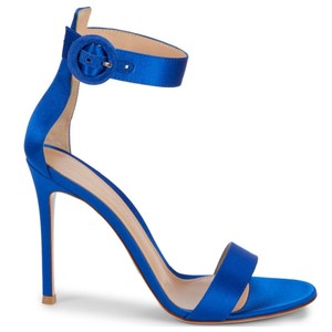 Gianvito Rossi Blue Sandals