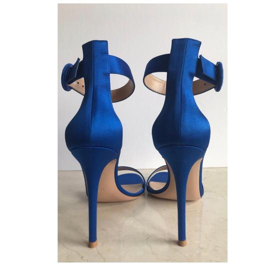 Gianvito Rossi Blue Sandals Image 10