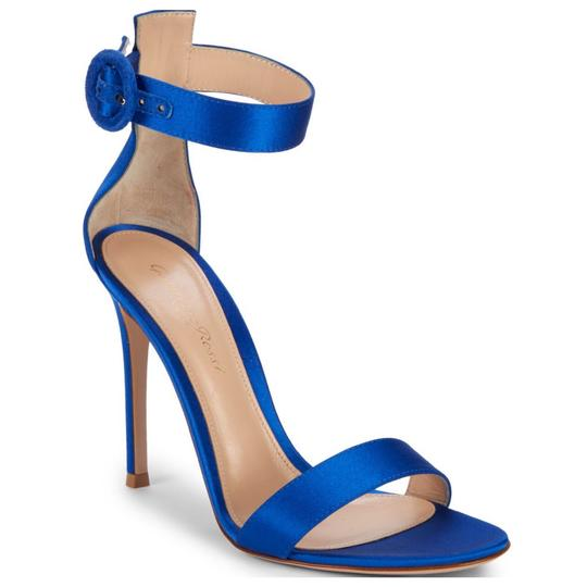 Gianvito Rossi Blue Sandals Image 2