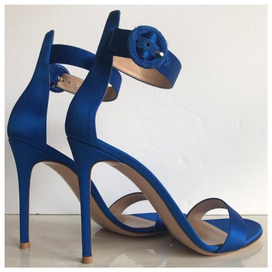 Gianvito Rossi Blue Sandals Image 3
