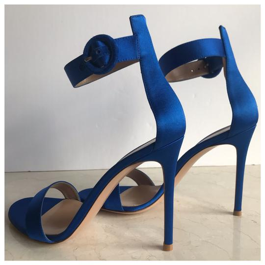 Gianvito Rossi Blue Sandals Image 4
