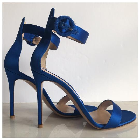 Gianvito Rossi Blue Sandals Image 5