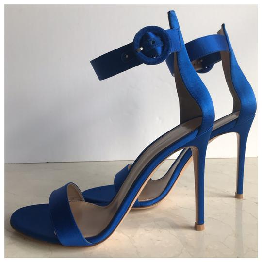 Gianvito Rossi Blue Sandals Image 6