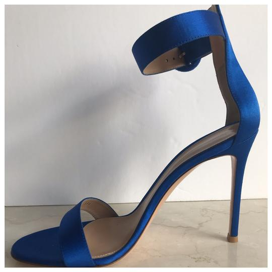 Gianvito Rossi Blue Sandals Image 8
