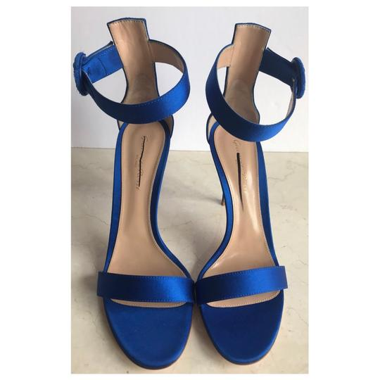 Gianvito Rossi Blue Sandals Image 9