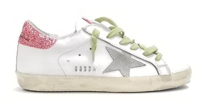 Item - White-tomato Metal Lettering Superstar Sneakers Size EU 37 (Approx. US 7) Regular (M, B)