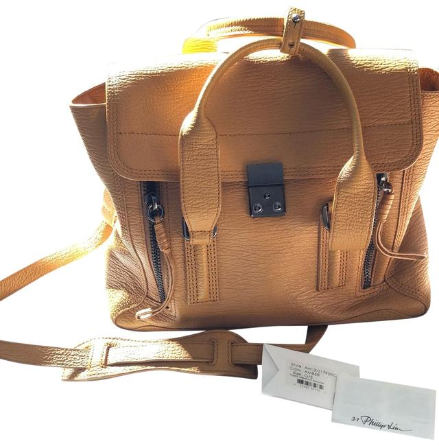 Item - Pashli Amber Leather Cross Body Bag