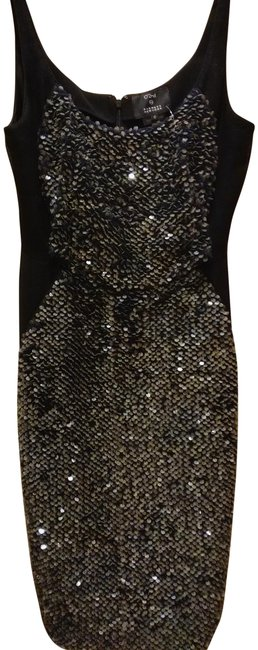 Preload https://img-static.tradesy.com/item/25079410/o-2nd-black-grey-0-by-barney-s-new-york-sleeveless-sequined-mid-length-night-out-dress-size-0-xs-0-1-650-650.jpg