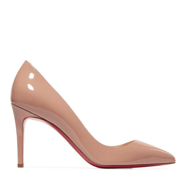 Christian Louboutin Nude Pigalle Follies 85 Patent Leather Pumps Size EU 40 (Approx. US 10) Regular (M, B) Christian Louboutin Nude Pigalle Follies 85 Patent Leather Pumps Size EU 40 (Approx. US 10) Regular (M, B) Image 1