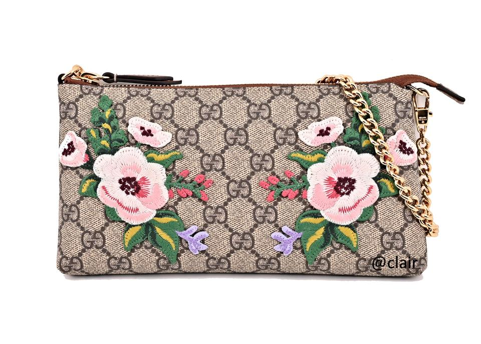 c18b67a920c Gucci Garden Souvenir Gg Multicolor Supreme Canvas Shoulder Bag ...