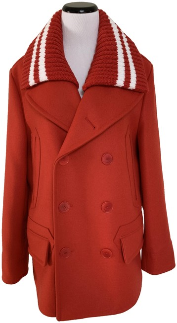 Preload https://img-static.tradesy.com/item/25079965/givenchy-red-striped-collar-double-breasted-coat-size-10-m-0-1-650-650.jpg