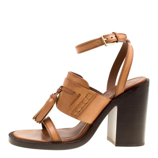 Burberry Leather Brown Sandals Image 2