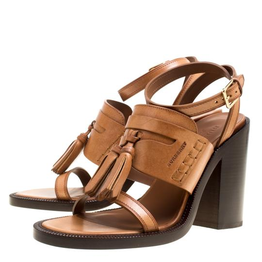 Burberry Leather Brown Sandals Image 4