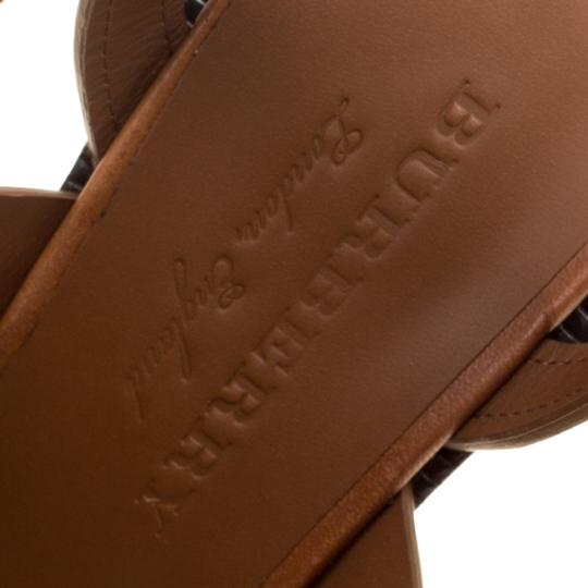 Burberry Leather Brown Sandals Image 5
