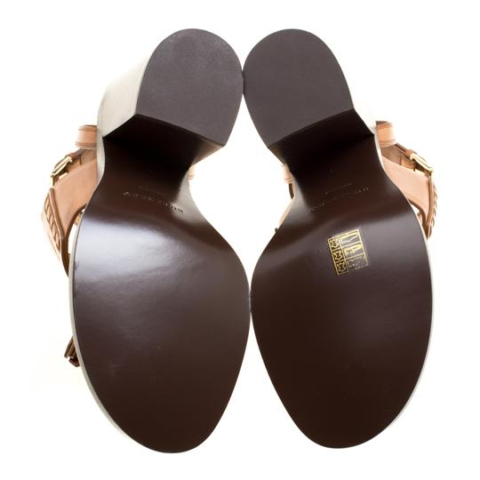 Burberry Leather Brown Sandals Image 6