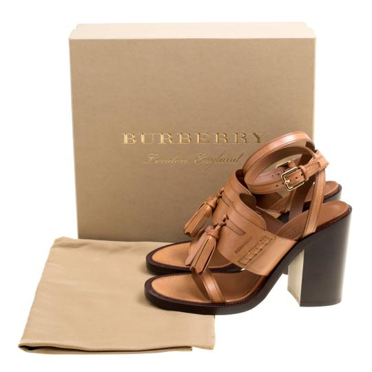Burberry Leather Brown Sandals Image 7