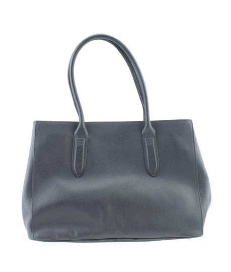 Coach Leather Tote in Blue Image 2